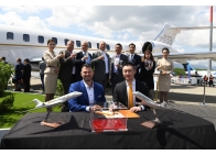 HK Bellawings signed a letter of intent (LOI) for five new Global 7500 business jets