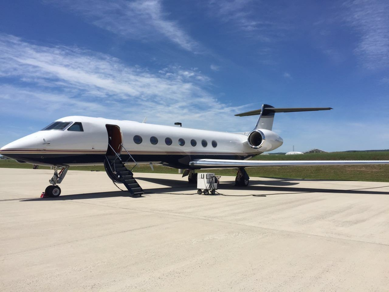 HK Bellawings manages one more Gulfstream G550